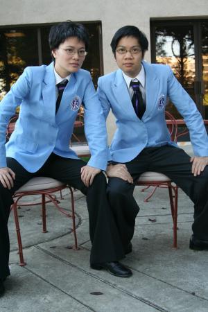 Kyoya Ootori from Ouran High School Host Club worn by Lionboogy