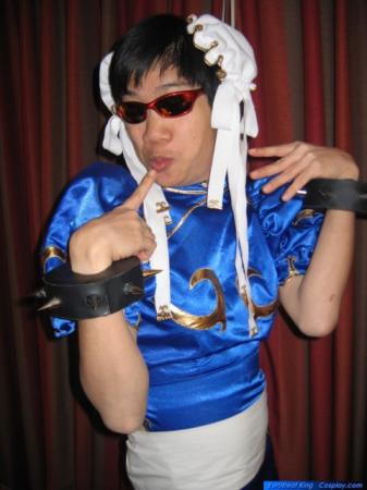 Chun Li from Street Fighter II worn by Lionboogy