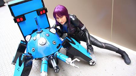 Motoko Kusanagi from Ghost in the Shell worn by Lionboogy