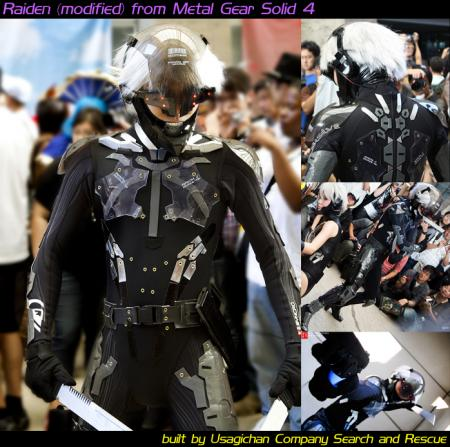 Raiden from Metal Gear Solid 4: Guns of the Patriots worn by Lionboogy