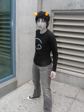 Karkat Vantas from MS Paint Adventures / Homestuck (Worn by Ellome)