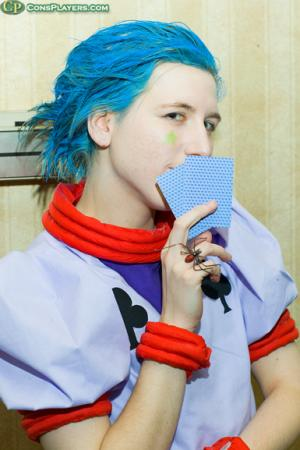 Hisoka from Hunter X Hunter worn by Ellome