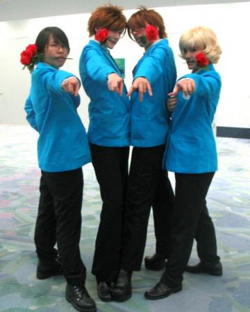 Hikaru Hitachiin from Ouran High School Host Club (Worn by Ellome)