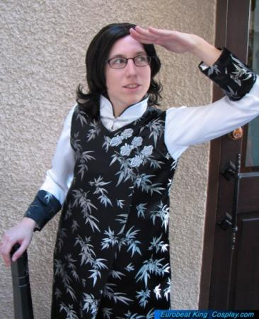 Komui Lee from D. Gray-Man worn by Ellome