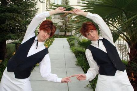 Hikaru Hitachiin from Ouran High School Host Club worn by Ellome