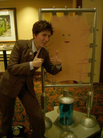 The Doctor (10th) from Doctor Who worn by Ellome