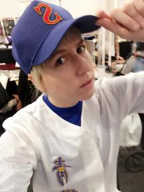 Kanemaru Shinji from Ace of Diamond worn by Ellome