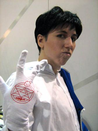 Roy Mustang from Fullmetal Alchemist (Worn by Ellome)