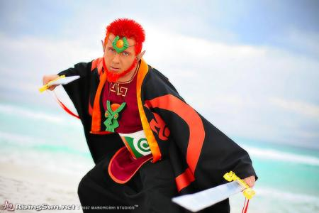 Ganondorf from Legend of Zelda: The Wind Waker worn by negativedreamer