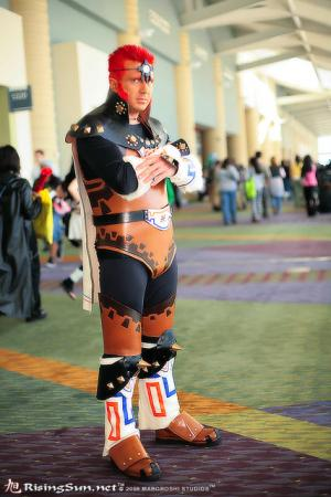 Ganondorf from Legend of Zelda: Ocarina of Time worn by negativedreamer