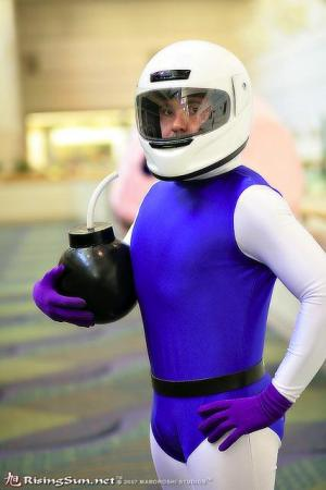 White Bomberman from Bomberman worn by negativedreamer