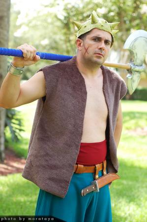 Yangus from Dragon Quest VIII worn by negativedreamer