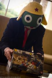 Keroro from Keroro Gunsou worn by negativedreamer