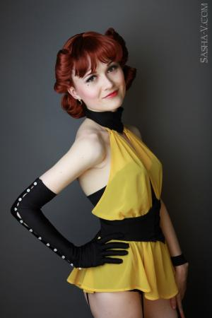 Sally Jupiter / Silk Spectre I from Watchmen, The worn by Sewing Sasha