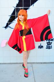 Asuka Langley Sohryu from Neon Genesis Evangelion worn by Sewing Sasha