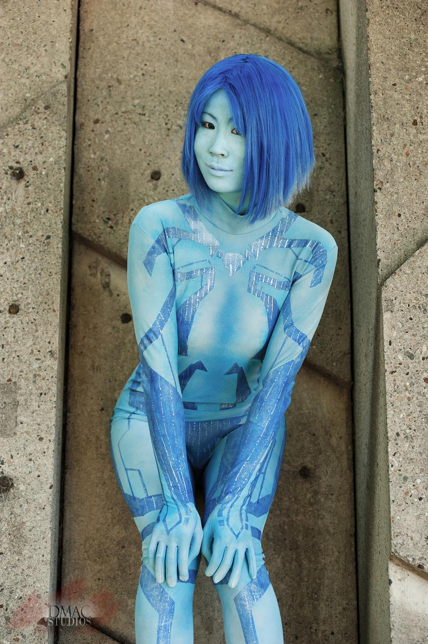 Cortana from halo masterbates porn picture