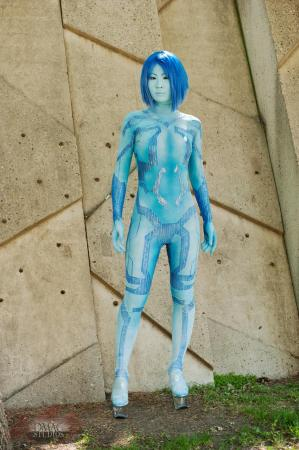 Cortana from Halo Legends worn by Hyokenseisou