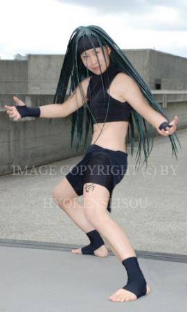 Envy from Fullmetal Alchemist worn by Hyokenseisou