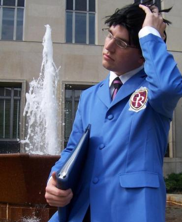 Kyoya Ootori from Ouran High School Host Club worn by JonnyStarwind