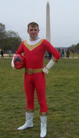 Red Zeo Ranger / OhRed from Power Rangers: ZEO / Choriki Sentai Ohranger worn by JonnyStarwind