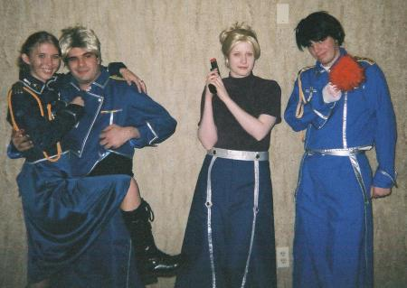 Roy Mustang from Fullmetal Alchemist worn by JonnyStarwind