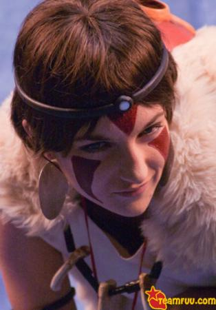 San from Princess Mononoke worn by Feawen