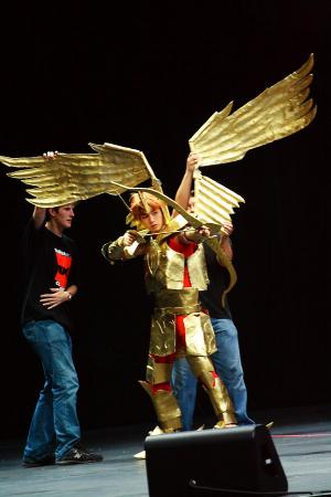Sagittarius Aioros from Saint Seiya worn by Muze
