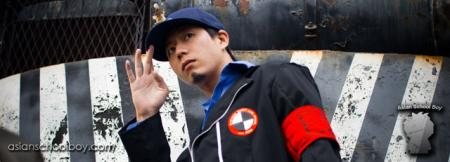 Junpei from Persona 3 worn by Muze