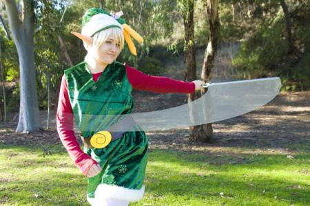Link from Legend of Zelda: The Minish Cap worn by Yaminogame