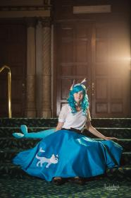 Vaporeon from Pokemon worn by Yaminogame