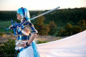Umi Ryuuzaki from Magic Knight Rayearth worn by Devon