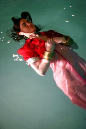 Aeris / Aerith Gainsborough from Final Fantasy VII worn by Miyuka