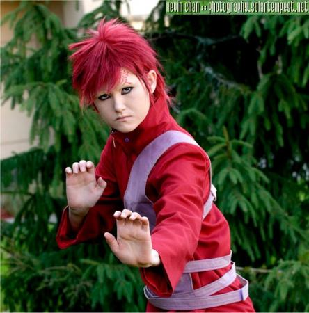Gaara from Naruto Shippūden worn by Miyuka