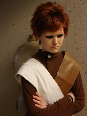 Gaara from Naruto worn by Miyuka