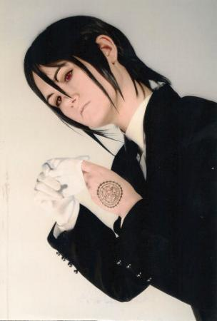 Sebastian Michaelis from Black Butler worn by Miyuka