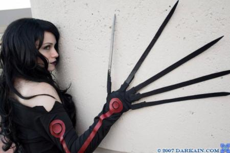 Lust from Fullmetal Alchemist worn by Rynn