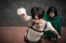 Eren Yeager from Attack on Titan worn by Rynn