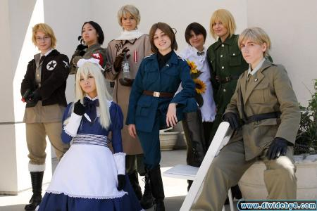 Italy (Veneziano) / Feliciano Vargas from Axis Powers Hetalia worn by Gin