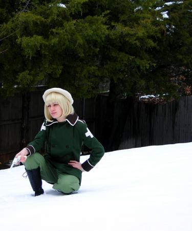 Switzerland / Vash Zwingli from Axis Powers Hetalia (Worn by Gin)