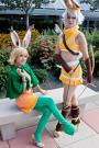 Viera Green Mage from Final Fantasy Tactics A2 worn by Rosabella