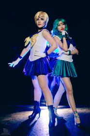 Sailor Neptune from Sailor Moon worn by Rosabella