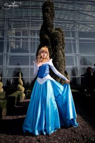 Princess Aurora from Sleeping Beauty worn by Rosabella