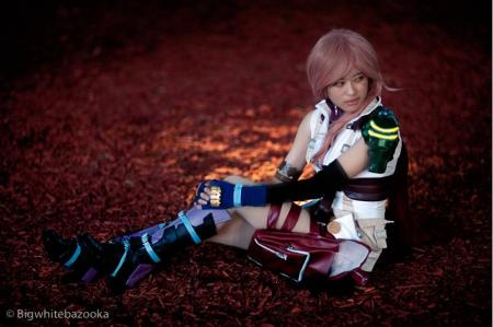 Lightning from Final Fantasy XIII worn by Rosabella