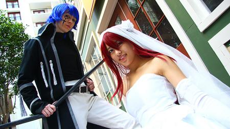 Erza Scarlet from Fairy Tail worn by Rosabella