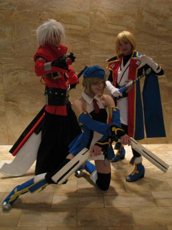Jin Kisaragi from BlazBlue: Calamity Trigger worn by Rosabella