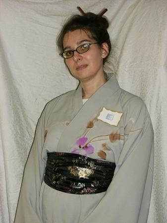Yukata from Original:  Historical / Renaissance worn by JaclynGFC