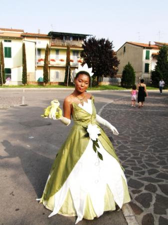 Tiana from Disney Princesses worn by suny