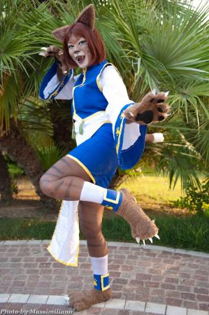 Uriko / Halfbeast (Catgirl) from Bloody Roar 3 worn by suny