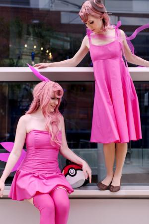 Clefable from Pokemon worn by Starlighthoney