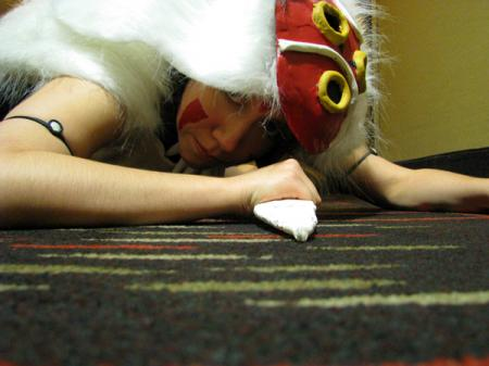 San from Princess Mononoke worn by Seta Ginny